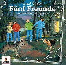 FÜNF FREUNDE - 117/UND DER WOLF IN DEN HIGHLANDS   CD NEU