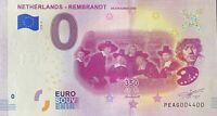BILLET 0  EURO NETHERLANDS REMBRANDT DE STAALMEESTERS  2019   NUMERO 4400