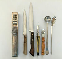Vintage Lot of 7 Kitchen Utensils/Tools Mixed Brand