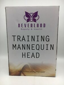 """Neverland Beauty 26"""" 100% Synthetic Hair Training Mannequin Head Ctop C"""