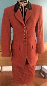 Vintage Jones New York Worsted Wool Skirt Suit Beautiful Condition!
