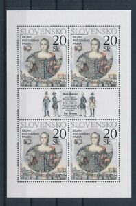 D151338(1) Slovakia S/S MNH Paintings Art History of Postal Law