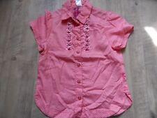 CAKEWALK schöne Bluse rosa rot Gr. 140 NEU ST817