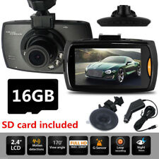 2.7'' LCD Car Camera DVR Night Vision Vehicle Camcorder Dash Cams With SD Card