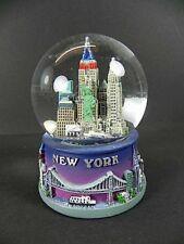 New York Schneekugel Snowglobe 9cm,Souvenir USA,Empire,Brooklyn Bridge ..