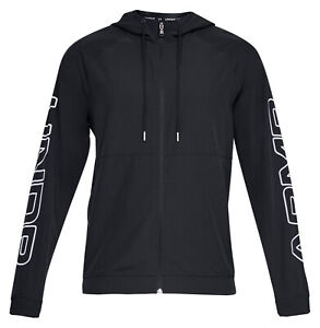 New BNWT Mens Under Armour Base Line Hooded Jacket Top Hoodie L