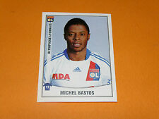 222 MICHEL BASTOS OLYMPIQUE LYON OL GERLAND PANINI FOOT 2011 FOOTBALL 2010-2011