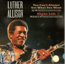 You Can't Always Get What You Want/Night Life by Luther Allison- PR 7 Inch