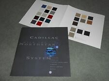 1996 CADILLAC SEVILLE ELDORADO DEVILLE BIG 52 p. BROCHURE + 96 PAINT COLOR CHIPS