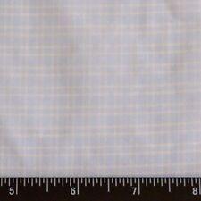 """Blue/White Tissue Taffeta Checks 100% Silk Fabric 44"""" Wide, By The Yard, SD-692B"""