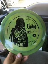 New! Super Swirly Discraft Star Wars Darth Vader Esp Force! 173-174g
