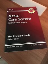 GCSE Core Science AQA A Revision Guide - Higher Level (with Online Edition)...