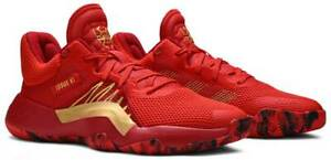 Adidas x Marvel D.O.N. Issue #1 Ironman Spiderman Red Basketball Shoes Mens 13
