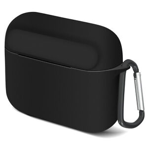 Geekria Silicone Protective Cover for Skullcandy Indy Earbud Case (Black)