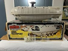 Kenner Vintage Star Wars ESB Rebel Transport Ship 1982 With Box And Accessories