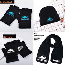 Kids Boys Girls Cap Gloves Scarf Unisex Beanie Hat Knit Cap Hip-Hop Xmas  Gift 48e64de535ca