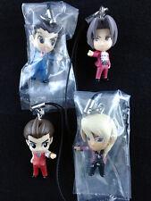 Ace Attorney Gyakuten Saiban Phoenix Wright Figure Strap Complete set Bandai