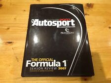 AUTOSPORT Awards 2007 FORMULA 1 ANNUAL, Motor Sport, Racing, LIBRO, Hamilton