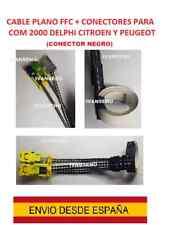 cable plano FFC + CONECTORES com 2000 AirBag citroen peugeot 307 DELPHI