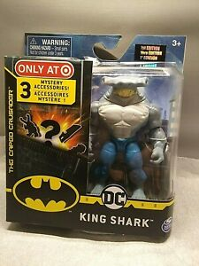 DC KING SHARK Action Figure Target Exclusive 1st Edition 3 Mystery Accessories