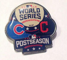 2016 MLB World Series Post Season Dueling Pin - Cubs vs Indians