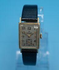 HAMILTON 10k Gold Filled Masterpiece  Wristwatch Engraved