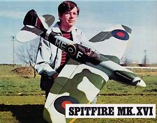 "Model Airplane Plans (UC): Spitfire Mk.XVI 58"" Stunt for .46 by Mark Freeman"