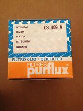 Purflux LS 489 A  Ölfilter für Oldtimer Mazda Mitsubishi Subaru Isuzu Hyundai