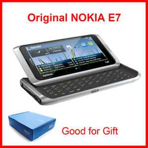 Original NOKIA E7 Mobile Phone Unlocked 3G wifi Smartphone touch screen
