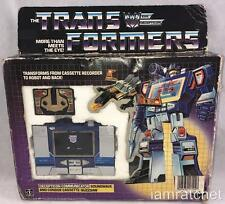 Transformers Original G1 1984 Pre rub Soundwave Complete with Box