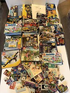 Lego Instruction Manuals Job Lot B Over 17kg