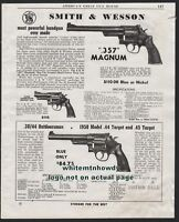 1954 SMITH & WESSON .357 Magnum, .38/,44 Outdoorsman Revolver AD