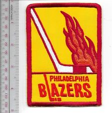 World Hockey Association WHA Philadelphia Blazers 1972 72 became Vancouver Blaze