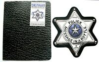 EX/EX THE POLICE MESSAGE IN A BOTTLE Shaped Vinyl Picture Pic Disc  + WALLET