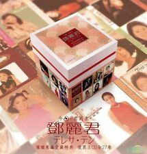 Teresa Teng Japanese Reissue Collection  鄧麗君 璀璨東瀛愛藏特典 復黑王 27 CD Deluxe Boxset