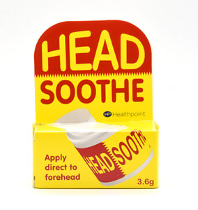 Headsoothe Soothing Forehead Migraine Headache Fast Relief Soothe Stick 3.6g