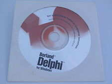 Borland Delphi 1 for Windows 16 Bit Rapid Application BOR 8117 FREE SHIPPING