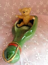 German Antique  Circa 1910 Teddy Bear Rare Figurine