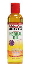 Africa's Best ULTIMATE HERBAL OIL helps REVITALIZE dry hair and scalp skin(8 oz)