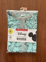 Bonds Disney Baby Mint Bambi Zip Wondersuit Size 00 BNIP
