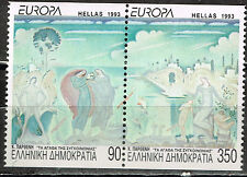 Greece Art Famous Paintings set 1993 MNH