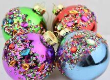 Decorazioni multicolore Gisela Graham per albero di Natale