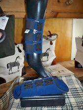 NWT TOKLAT ORIGINALS NEOPRENE Horse Splint Boots NAVY SIZE LARGE