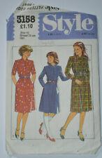 sewing pattern dress teen  size 10