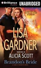 Family Secrets: Brandon's Bride by Lisa Gardner (2013, MP3 CD, Unabridged)