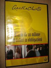 DVD IL FURTO DA UN MILIONE DI DOLLARI IN OBBLIGAZIONI AGATHA CHRISTIE MALAVASI