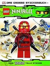 Fachbuch LEGO® Ninjago™, Stickerbuch, Samurais Skelette Schlangen Fahrzeuge, NEU