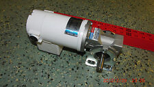 LESSON BRAVO Series 1/8HP 12-volt DC MOTOR w/ LESSON HydroMec Speed Reducer 19:1