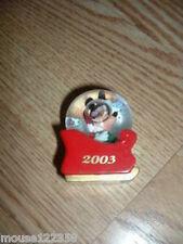 Disney Jc Penney Mickey Mouse Mini Snow Globe 2003
