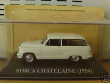 SIMCA chatelaine 1954 IXO altaya scale 1/43 Neuf